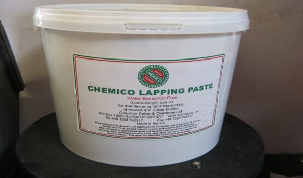 Back-Lapping Paste